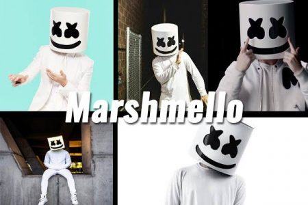 Disfraz de Marshmello carnaval