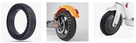 ruedas macizas tubeless neumaticos xiaomi m365
